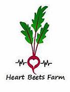 Heart beets Farm Logo